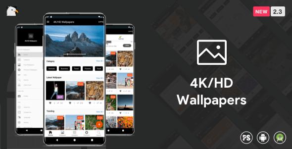 Download 4khd Wallpaper Android App Google Material Design