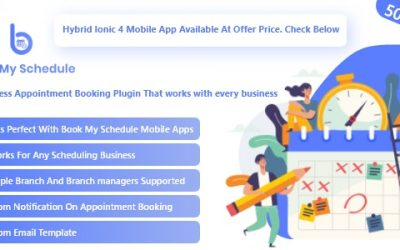Download BookMySchedule v1.0 – Appointment Booking and Scheduling WordPress Plugin with Mobile Apps