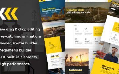 Download Samatex v1.7 – Industrial WordPress Theme + Woocommerce