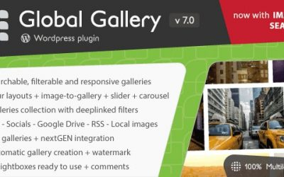 Download Global Gallery v7.0 – WordPress Responsive Gallery