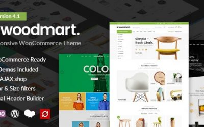 Download WoodMart v4.4.0 – Responsive WooCommerce Theme nulled